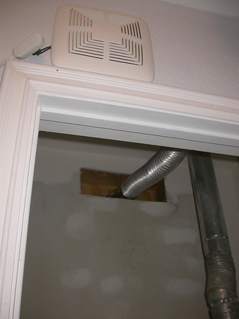 Vent duct.